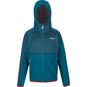 Regatta Bracknell II Soft Shell Jacket Kids olympic teal/gulfstream